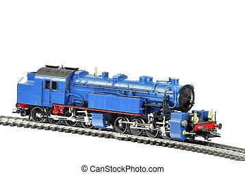 jouet, vapeur, locomotive