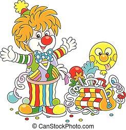 jouets, clown cirque