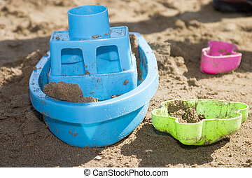 jouets plage