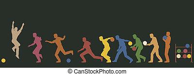 joueur boules