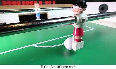 joueur, jouet, but, football, scores