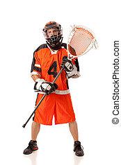 joueur lacrosse