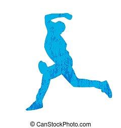 joueur, résumé, base-ball