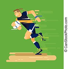 joueur rugby