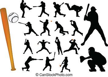 joueurs, base-ball
