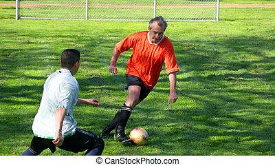joueurs, football