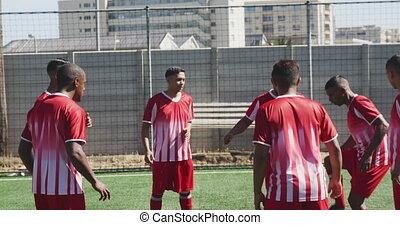 joueurs football, formation pratique