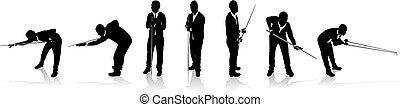joueurs, snooker