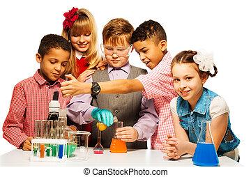 jouissance, classe chimie
