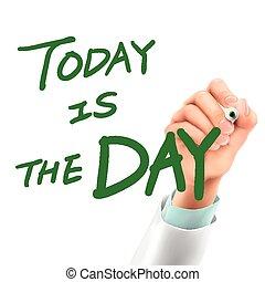 jour, écriture, docteur, aujourd'hui, mots
