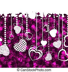 jour, 8, carte, template., eps, valentine
