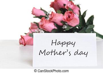 jour, carte, mères