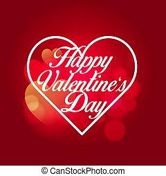 jour, doux, heureux, illustration., valentine?s, vecteur