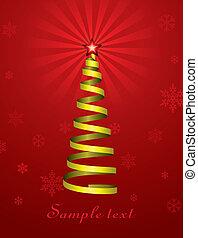jour férié christmas, arbre
