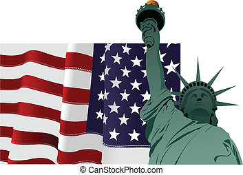 jour indépendance, juillet, uni, %u2013, 4ème