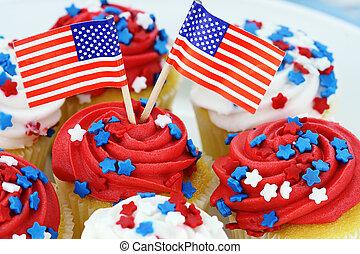 jour indépendance, petits gâteaux