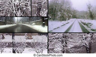 jour, neigeux