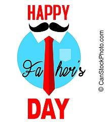 jour pères, heureux