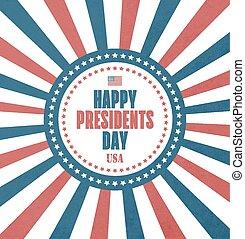 jour présidents, carte