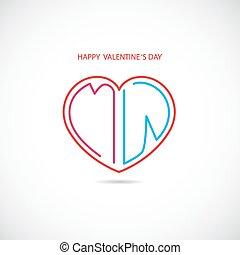jour, 's, heureux, valentin, arrière-plan.