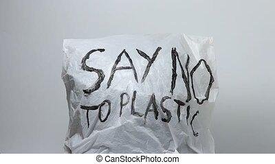 jour terre, concept., planète, b., là, mondiale, non, sauver, environnement, notre