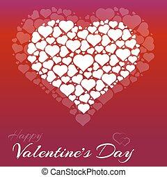 jour valentine, coeur