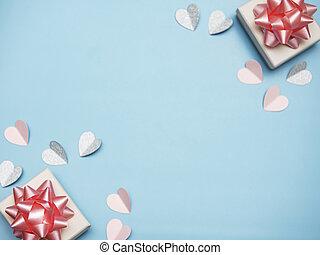 jour, valentines, fond