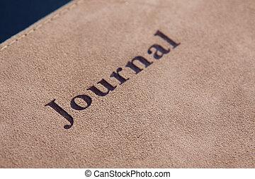 journaal, lettering