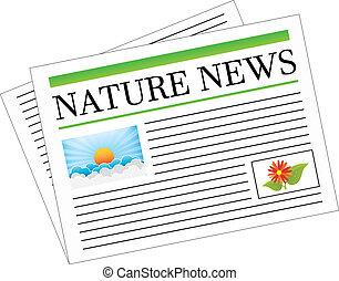 journal, nouvelles, nature