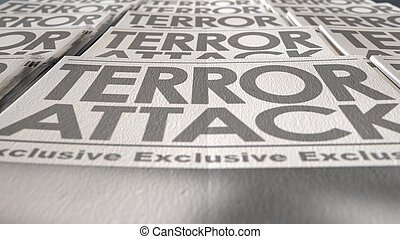 journal, presse, terrorisme, fin, course