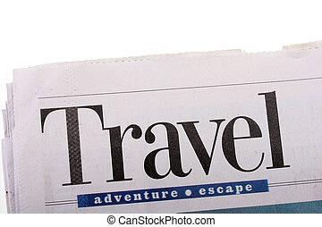journal, voyage