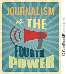 Journalism poster