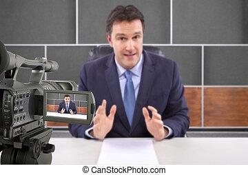 journaliste télé