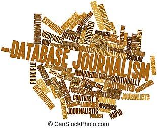 journalistiek, databank