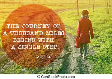 Journey begins of