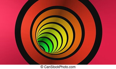 Journey in a 3D tunnel 1