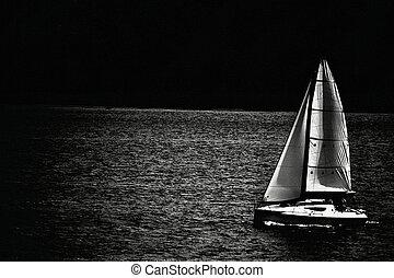 Journey on cruising & racing yacht