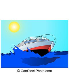 Journey on quick, comfortable motorboat on epidemic deathes....
