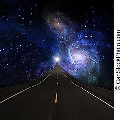 Journey - Road into sky