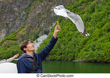 Journey through the Norwegian fjords.