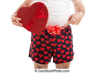jouw, cadeau, valentines dag