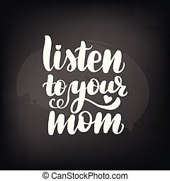 jouw, mamma, luisteren