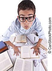 jovem, estudar