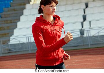 joven, deportista
