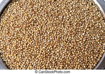 Jowar/Sorghum Grains - Small round yellowish white tropical...