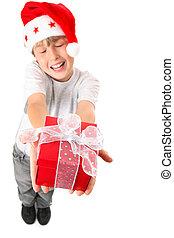 Joy of Giving a  Christmas Gift