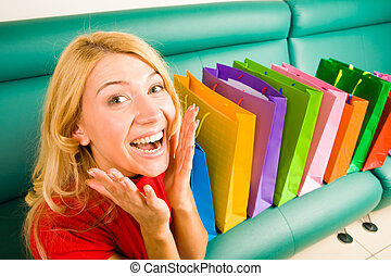Joy out of shopping