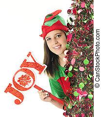Joy-Wishing Elf