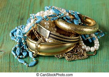 joyería del oro, perla