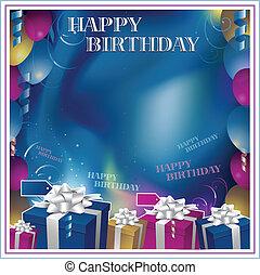joyeux anniversaire, invitation